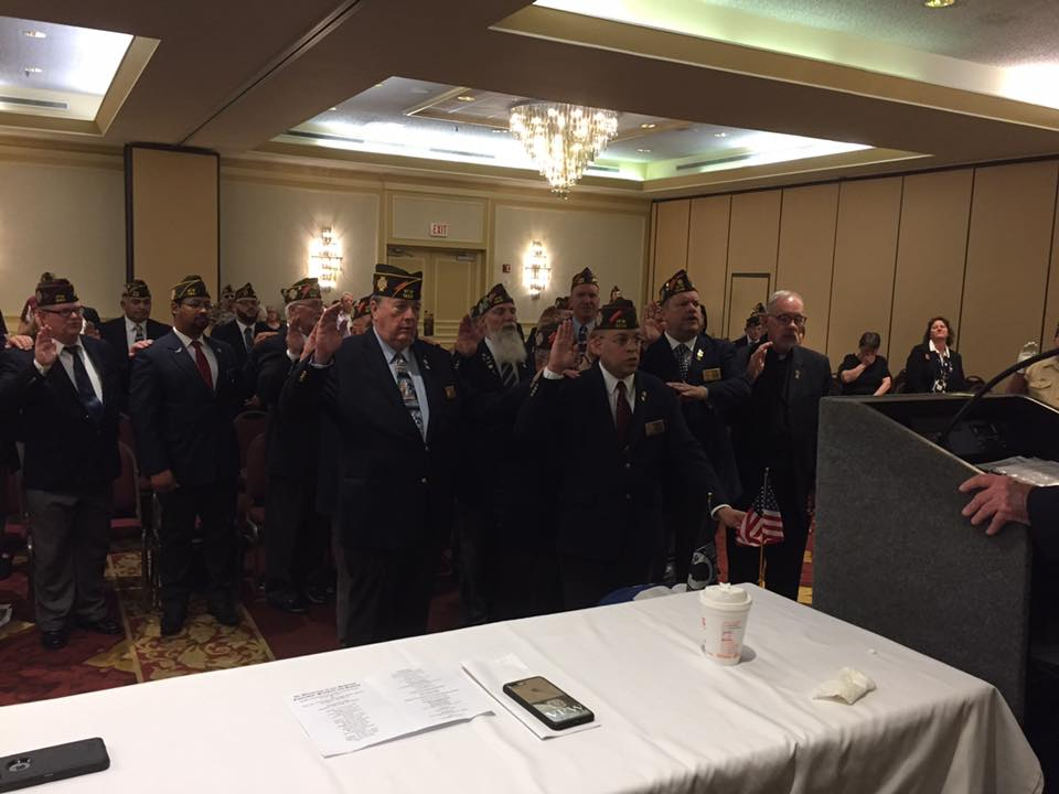 Installation and swear-in of Post, District and State Officers.