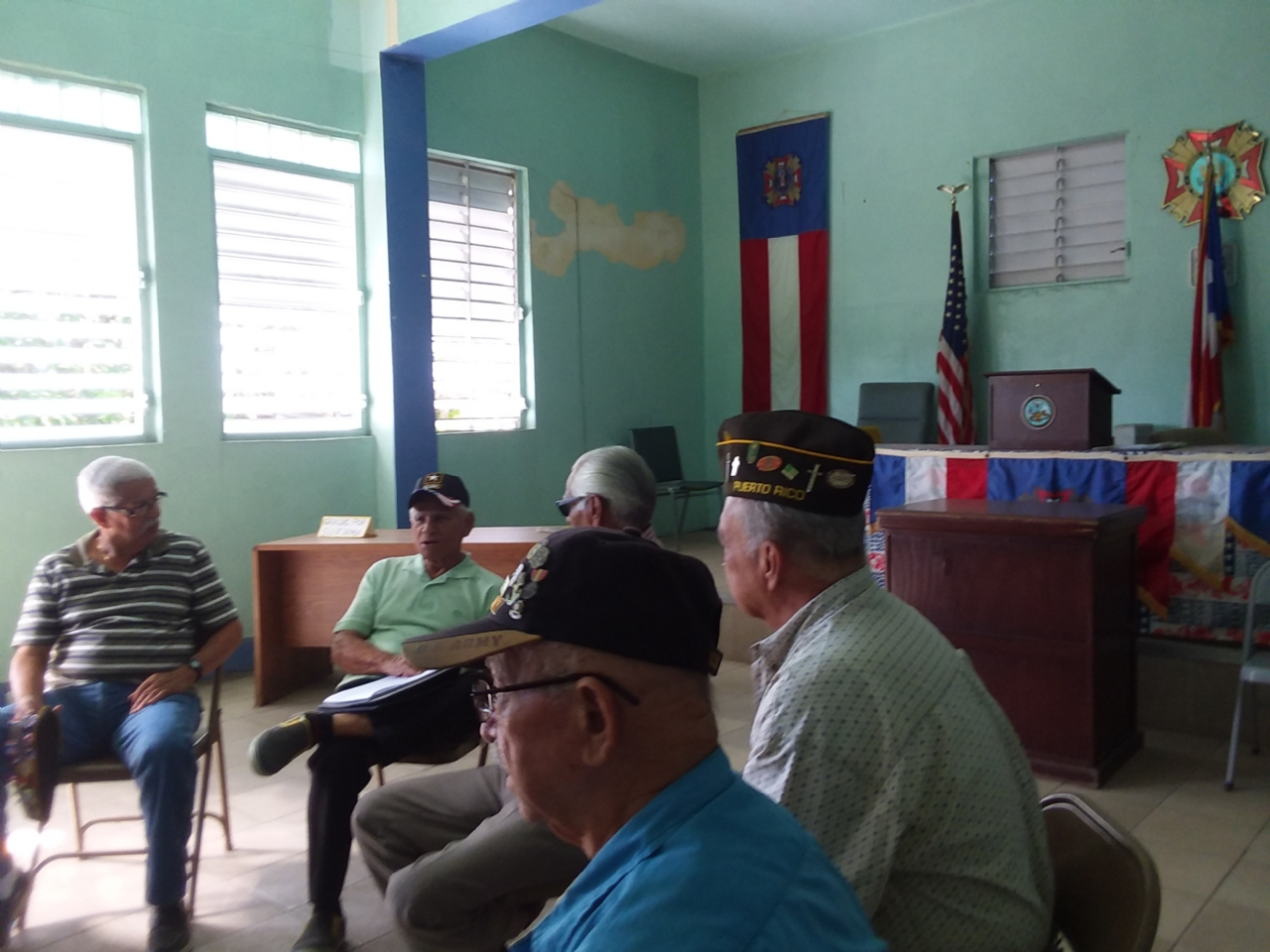 VFW Post 11103 Monthly meeting on Sunday, December 10th 2017.